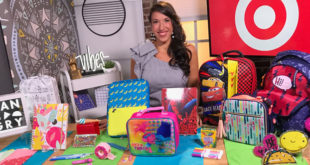 Back to School with Target and Justine Santaniello