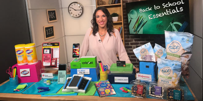 Back to School Essentials with Justine Santaniello